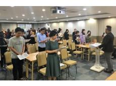 International Students of Kosin University Prayer …
